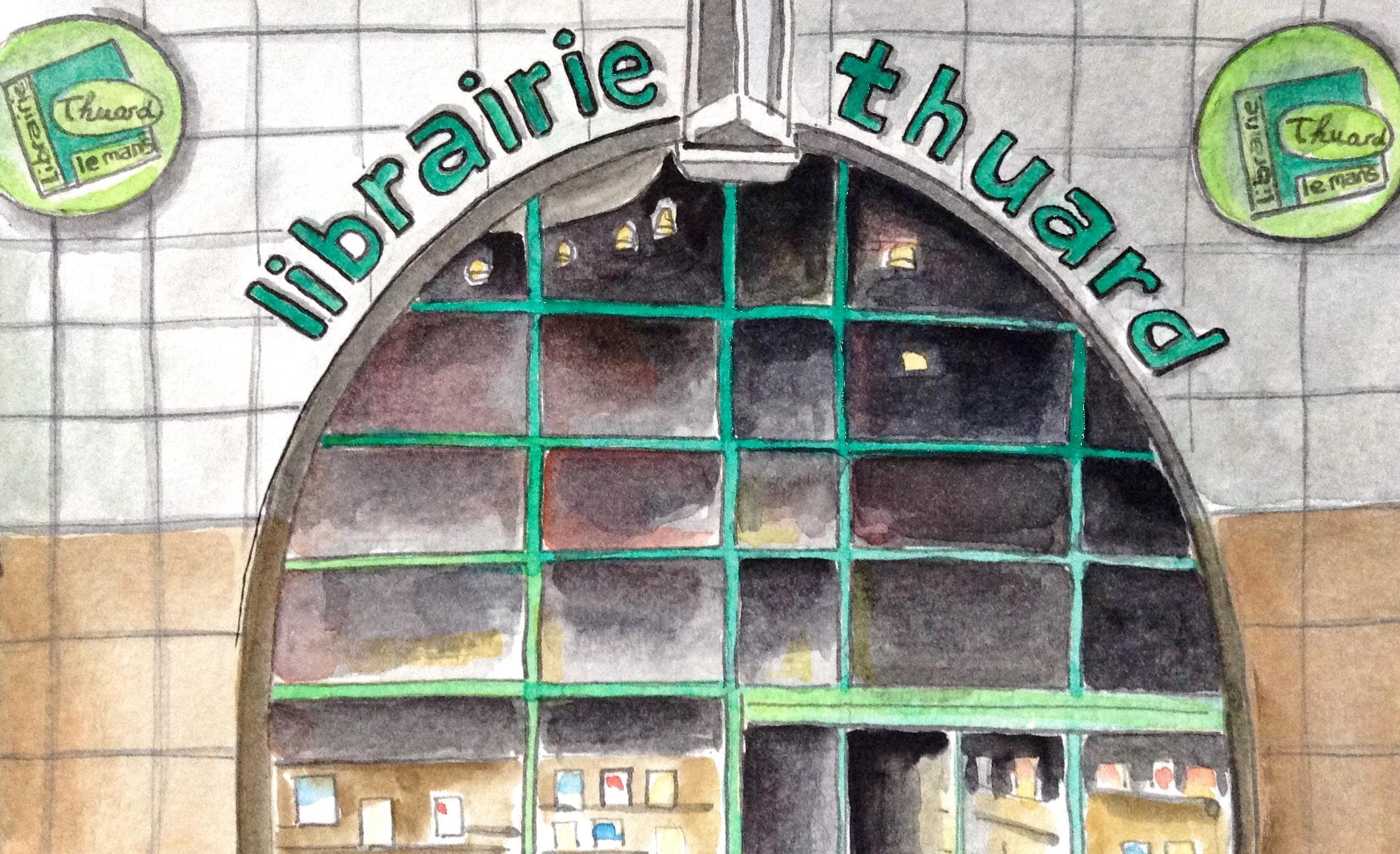 Thuard Librairie au Mans