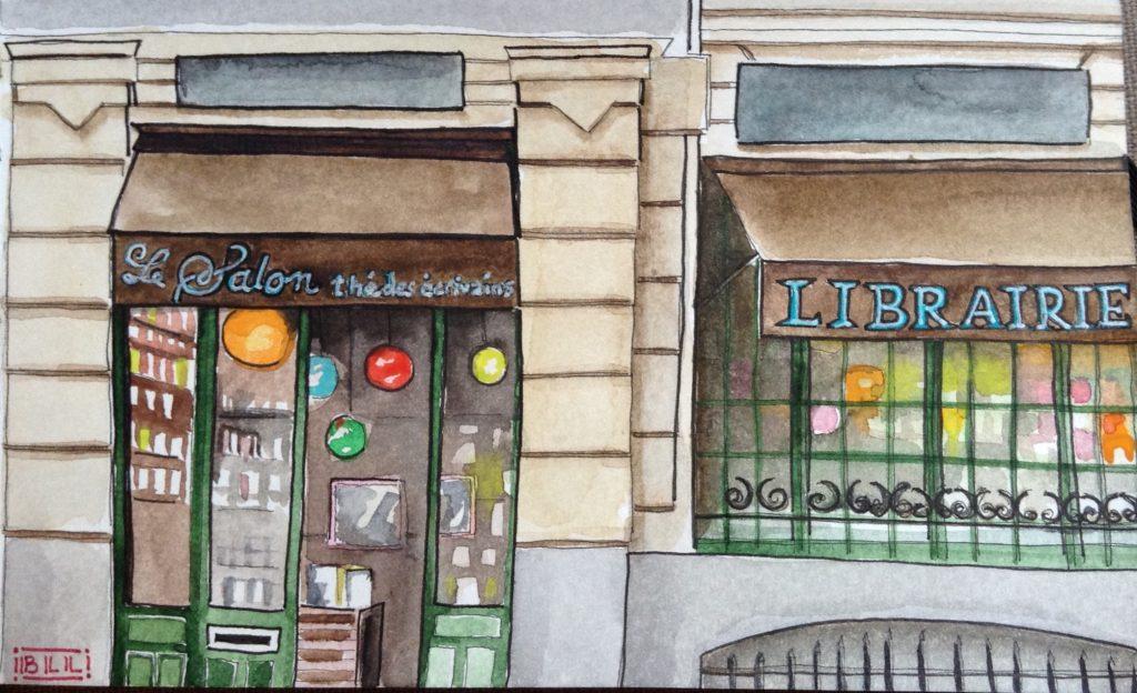 Salon by thé des écrivains