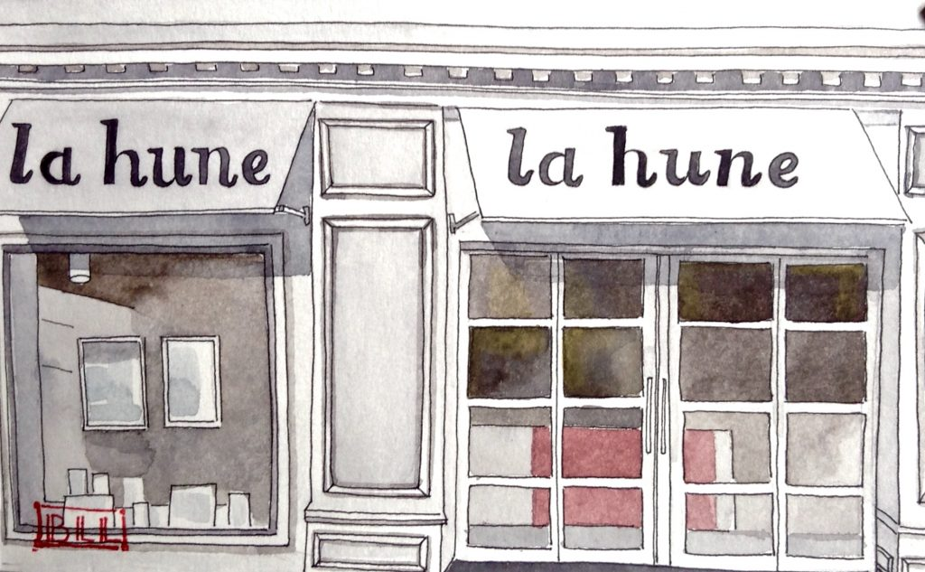 La Hune illustration