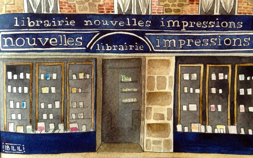 Librairie Nouvelles impressions illustration
