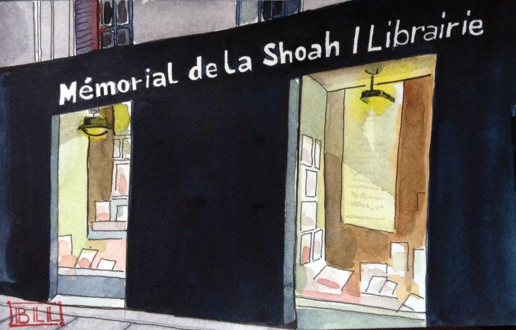 Memorial de la Shoah Librairie