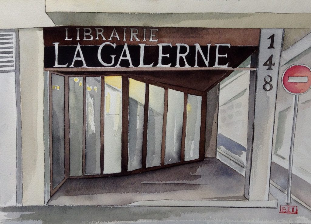 Librairie La Galerne illustration