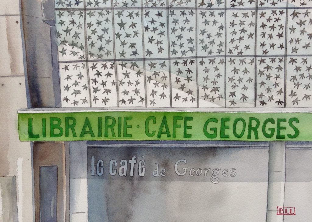 Librairie Georges Talence Illustration