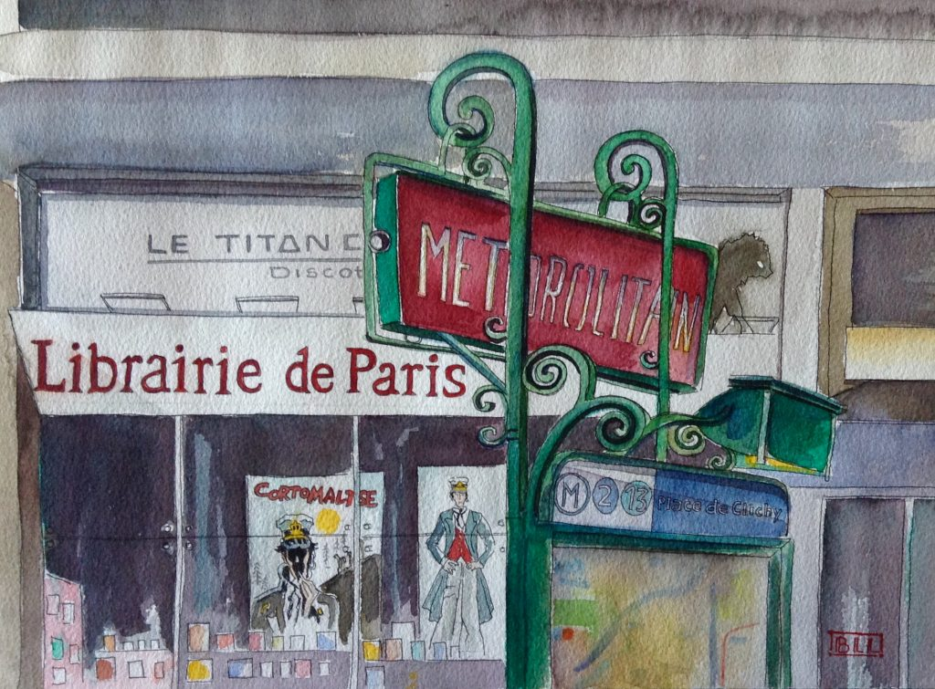 Librairie de Paris Illustration def onlalu