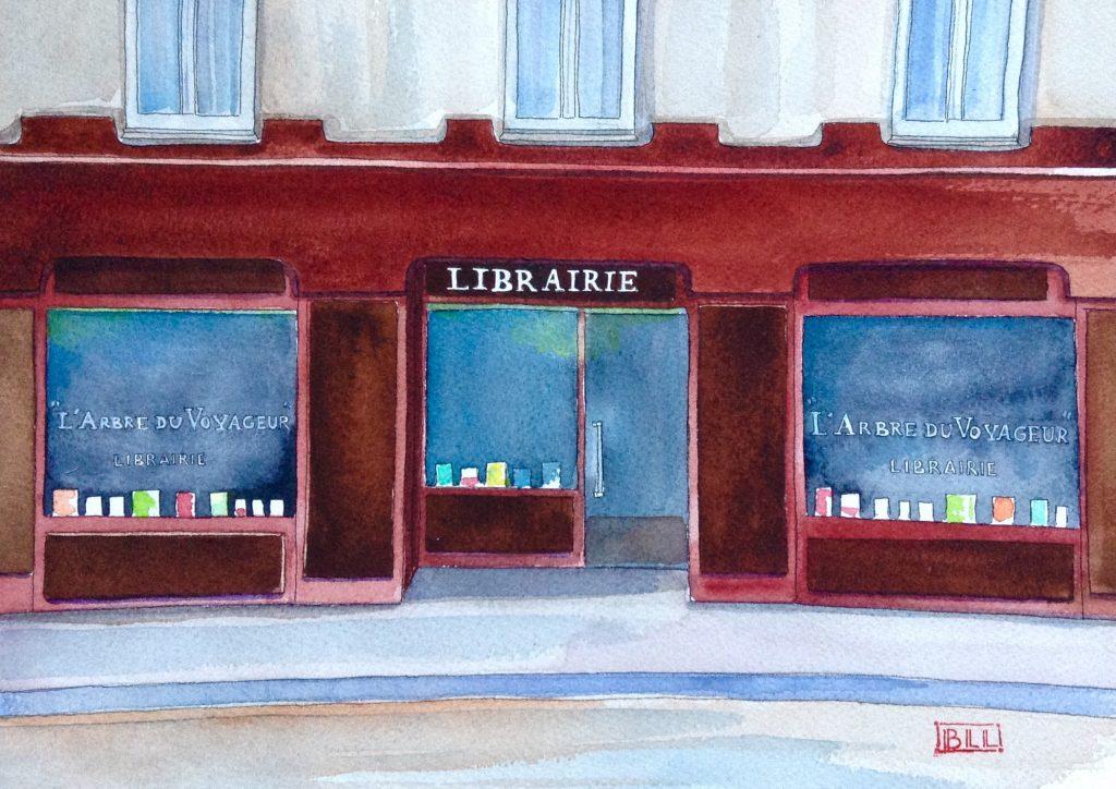 Librairie L'arbre du voyaguer 2