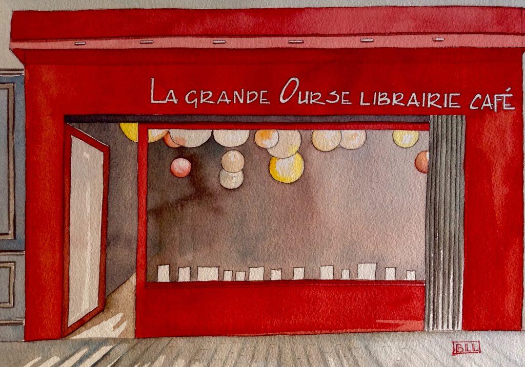 Librairie La gande ours illustration