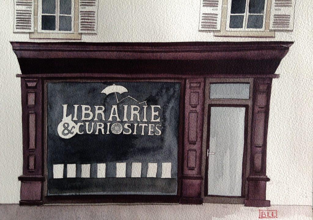 Librairie et curiosites Illustration  IB IL IL